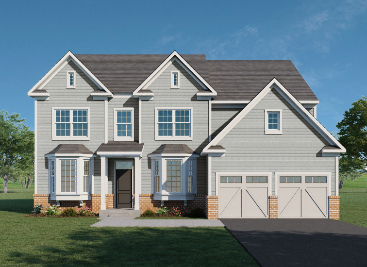 Carnegie Collection The Monroe Exterior image new home from Southdown Homes.